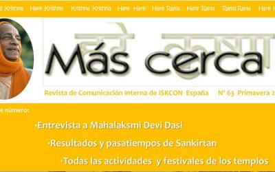 Revista Más Cerca – Primavera 2020