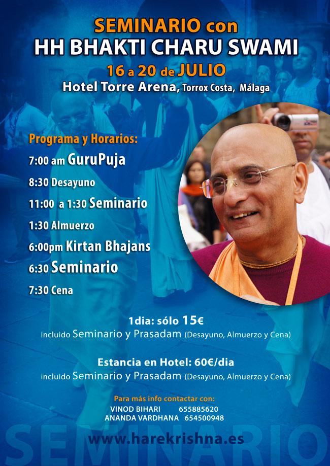 Seminario SS Bhakti Charu Swami